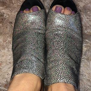 Victoria's Secret Holographic Mules
